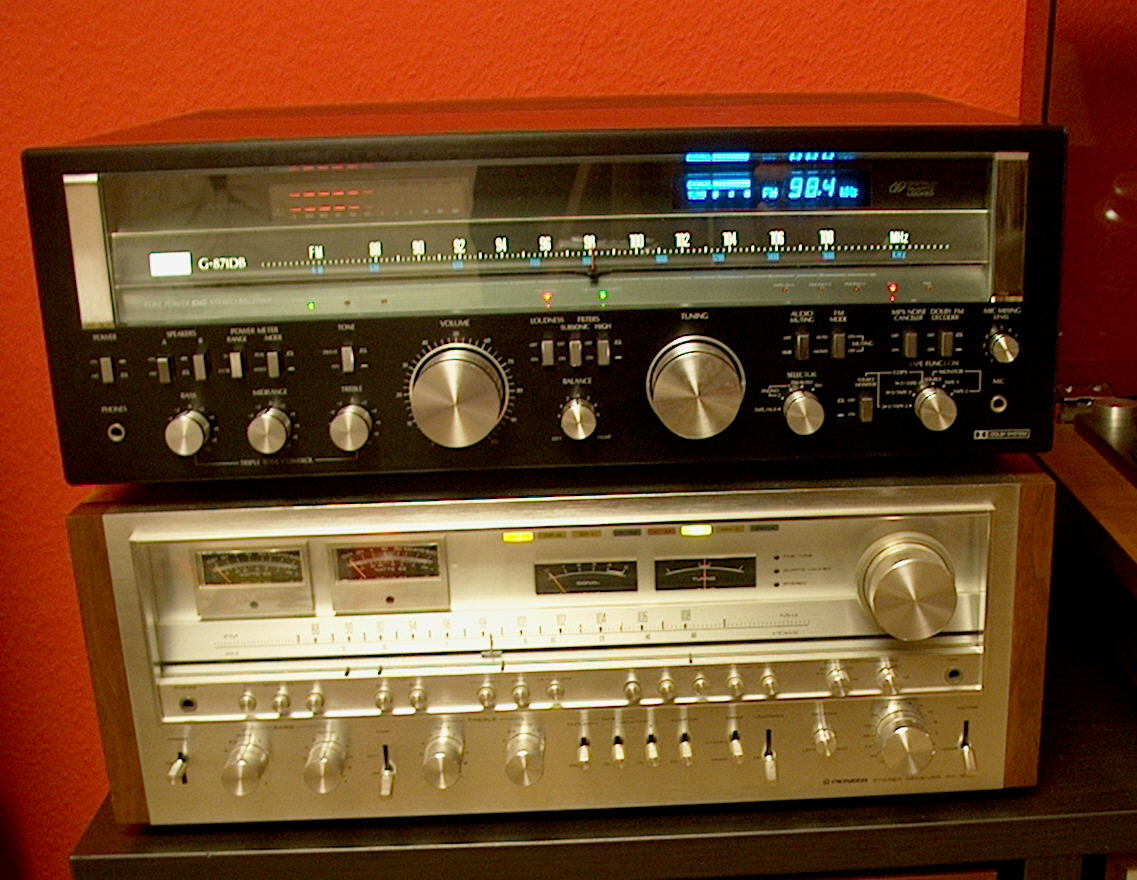 Im on vintage pioneer stereo receiver